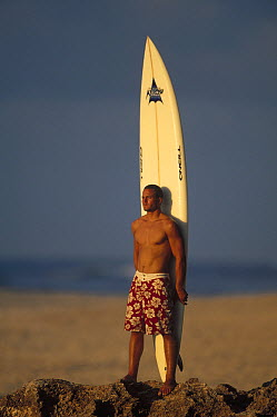 Jay Moriarity, March 1998, North Shore, Oahu, Hawaii  -  Bob Barbour