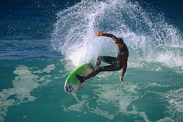 Josh mulcoy, December 1997, central coast, California  -  Bob Barbour