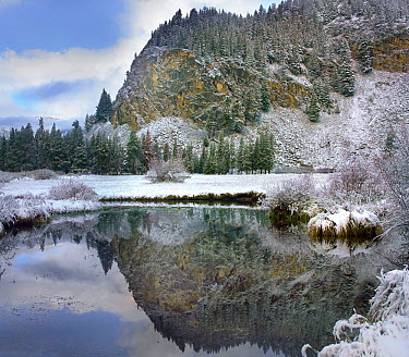 Boulder Mountains and Summit Creek, Idaho  -  Tim Fitzharris