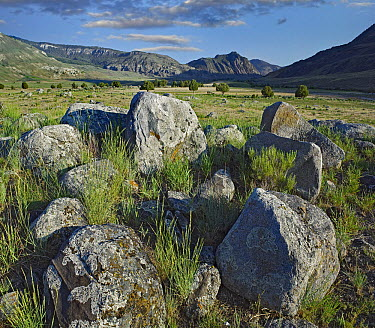 Boulders in Devil's Slide, Gardiner, Montana  -  Tim Fitzharris