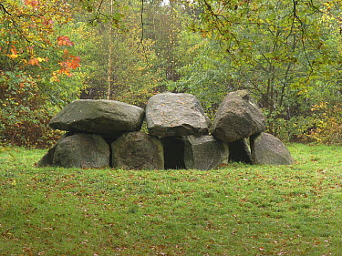 Dolmen of Tynaarlo, grave of the ancient Funnelbeaker Culture, Tynaarlo, Netherlands  -  Hendrik van Kampen/ Buiten-beeld