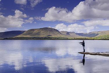 Fisherman, Lough Mask, Clonbur, Ireland  -  Johan van der Wielen/ Buiten-bee