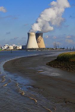 Nuclear power plant, Antwerp, Belgium  -  Wouter Pattyn/ Buiten-beeld