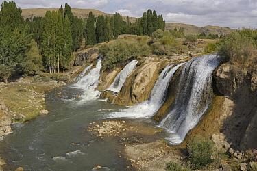 Muradiye waterfall, Turkey  -  Natalia Paklina/ Buiten-beeld