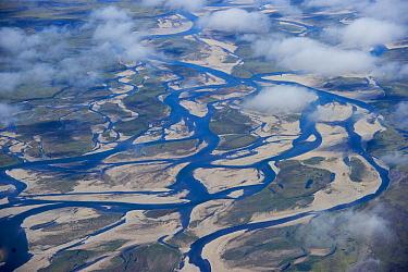 River floodplain, Wrangel Island, Russia  -  Sergey Gorshkov