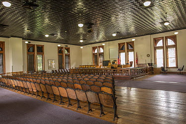 Historical Rhea County Courthouse in which the Scopes Monkey Trial held, Dayton, Tennessee  -  Michael Durham