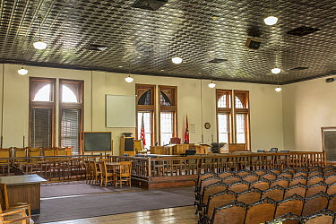 Historical Rhea County Courthouse where the Scopes Monkey Trial was held, Dayton, Tennessee  -  Michael Durham