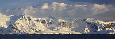 Ice-capped mountains, Anvers Island, Antarctic Peninsula, Antarctica  -  Matthias Breiter