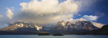 Cuernos del Paine above Pehoe Lake, Torres del Paine National Park, Chile  -  Matthias Breiter
