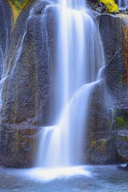 Hraunfossar waterfall, Borganes, Iceland  -  Winfried Wisniewski