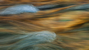 Flowing water, Azusa-gawa River, Northern Alps, Chubu-Sangaku National Park, Japan  -  Colin Monteath/ Hedgehog House