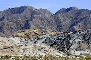 Badlands, Cedros Island, Baja California, Mexico  -  Richard Herrmann