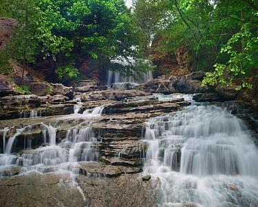 Waterfall, Tanyard Creek, Bella Vista,Arkansas  -  Tim Fitzharris