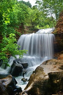 Waterfall, Tanyard Creek, Arkansas  -  Tim Fitzharris