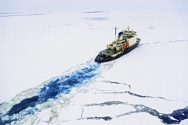 Russian Icebreaker, Kapitan Dranitsyn, Weddell Sea, Antarctica