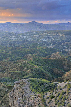 Mountains and valleys, Andalusia, Spain