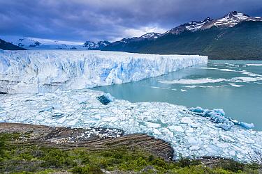 Icefield, Perito Moreno Glacier, Los Glaciares National Park, Argentina
