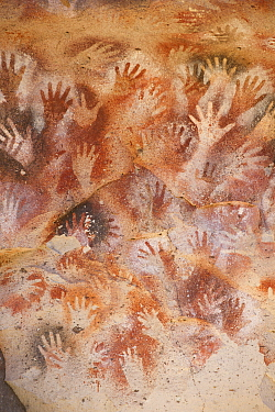 Rock art, Cave of the Hands, Santa Cruz, Argentina