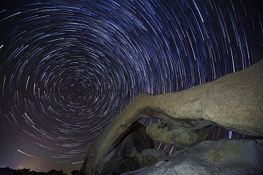 Arch Rock at night, Joshua Tree National Park, California