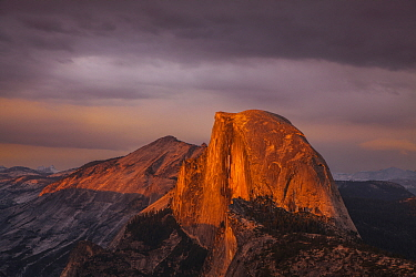 Half Dome at sunset, Yosemite National Park, California