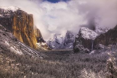 Winter in Yosemite Valley, Yosemite National Park, California, Yosemite National Park, California