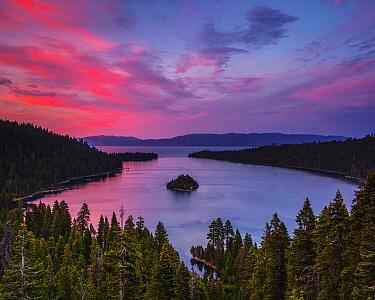 Dawn at Emerald Bay, Lake Tahoe, California