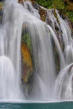Navajo Falls, Havasupai Indian Reservation, Grand Canyon National Park, Arizona  -  Jeff Foott