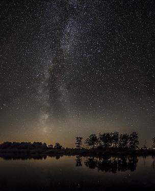 Milky way, Netherlands