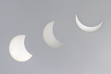 Partial solar eclipse, Germany