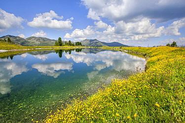 Alpine Lake, Zillertal Alps, Tyrol, Austria