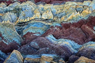 Sedimentary rocks, Batsfjord, Persfjord, Varanger, Finnmark, Norway