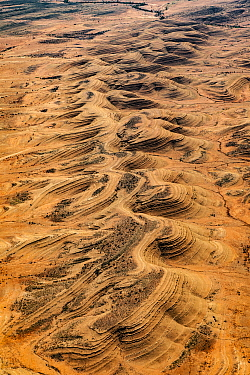 Folded ridges, Northern Territory, Australia