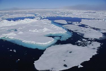 Melting pack ice, Spitsbergen Island, Svalbard, Norway