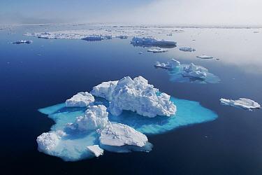 Icebergs, Spitsbergen Island, Svalbard, Norway