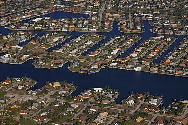 Buildings on artificial islands, Marco Island, Florida