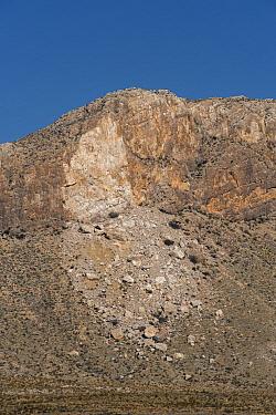 Rock slide, Big Bend National Park, Texas