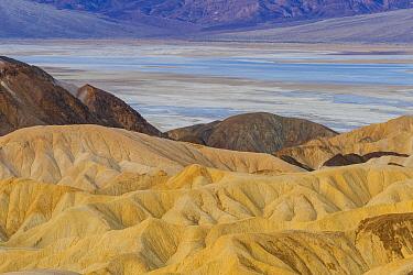 Rock formations, Zabriskie Point, Death Valley National Park, California