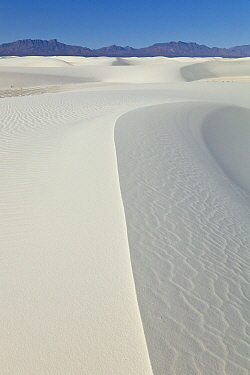Gypsum sand dunes, White Sands National Monument, New Mexico