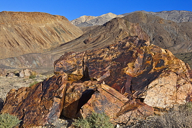 Volcanic rocks, Death Valley National Park, California