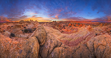 Sandstone rock formations, Vermillion Cliffs National Monument, Arizona