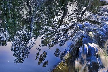 Reflection in waterfall, Minnesota