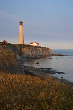 Cap-des-Rosiers Lighthouse, Gaspe Peninsula, Quebec, Canada