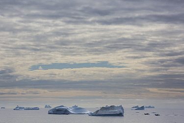 Icebergs, Disko Island, Greenland