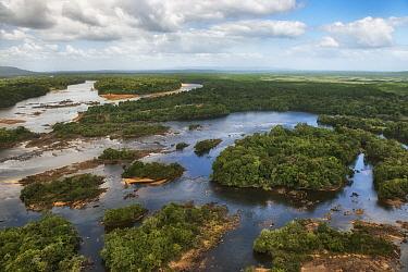 River in rainforest, Essequibo River, Rupununi, Guyana