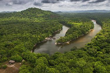 Essequibo River and Wai-wai settlement, Guyana