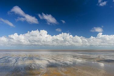 Clouds over ocean, Guyana