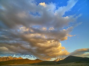 Clouds over Sangre de Cristo Mountain Range, New Mexico