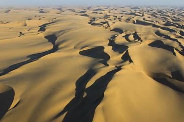 Desert sand dunes, Swakopmund, Namibia