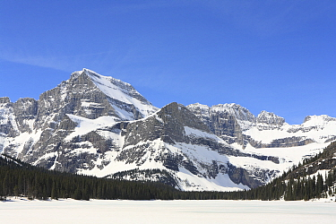 Mount Gould from Lake Josephine, Glacier National Park, Montana