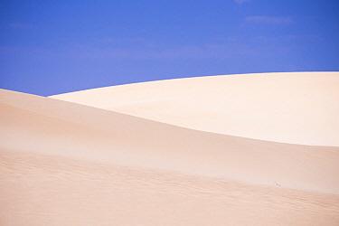 Sand dunes, Parque Natural de Corralejo, Fuerteventura, Canary Islands, Spain